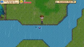 Kegiatan memancing merupakan suatu aktifitas vital yang ada di Harvest Moon segala series Tips Memancing dan Cara Mendapatkan Rare Fish di HM SoM
