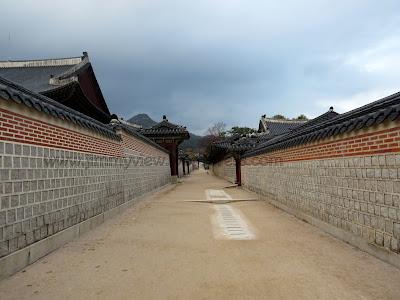 Long stretching walkways.