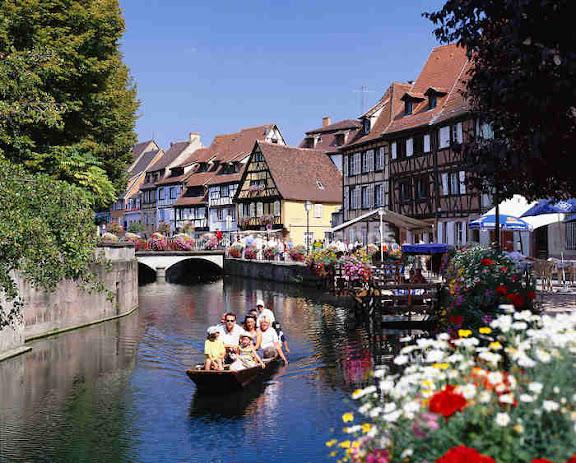 la pequeña Venecia en Francia Colmar