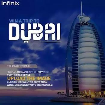How To Win a Trip to Dubai Via Infinix Facebook Photo Contest
