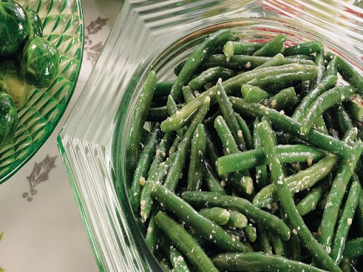 Plain Beans with Butter or Olive Oil