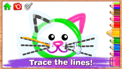 Children Coloring Games for kids! Preschool games 2.0.1.0 screenshots 2