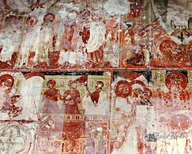 picturi murale biserica santamaria orlea hunedoara