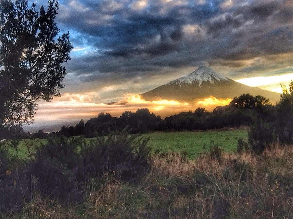 Volcan Osorno sunrise
