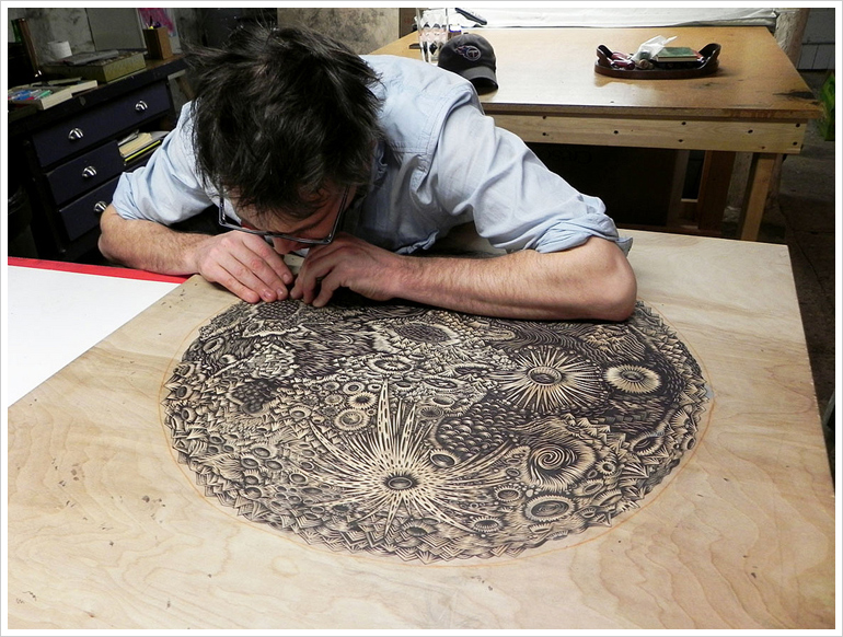 THE MOON by Tugboat Printshop