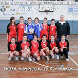 Cupa Navobi-Pieta, fotbal feminin, liceu, ed. a II-a 2012