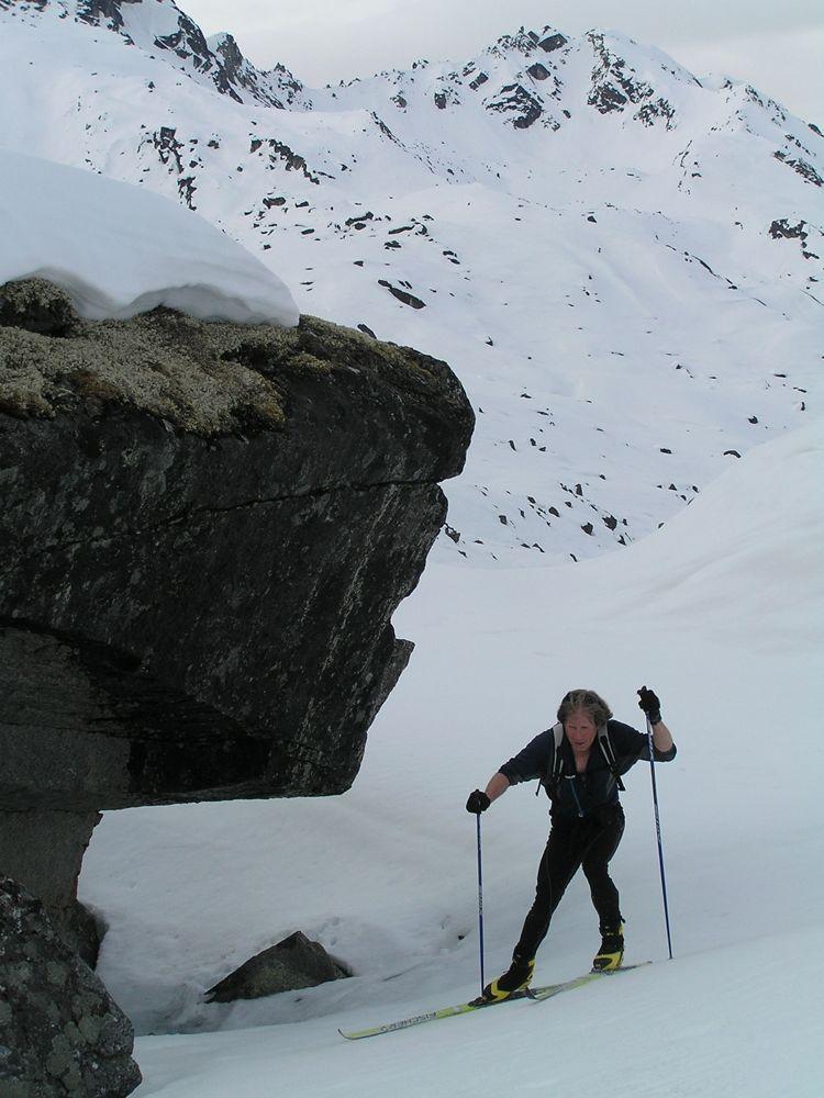 Crust Ski To Reed Lakes - P5190024.JPG