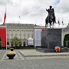 04-05-2013 | Warszawa | Pomnik Józefa Poniatowskiego na placu przed Pałacem Prezydenckim