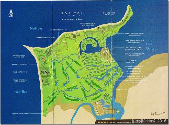 Denarau Map