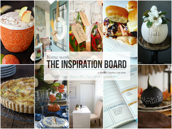 The Inspiration Board Features