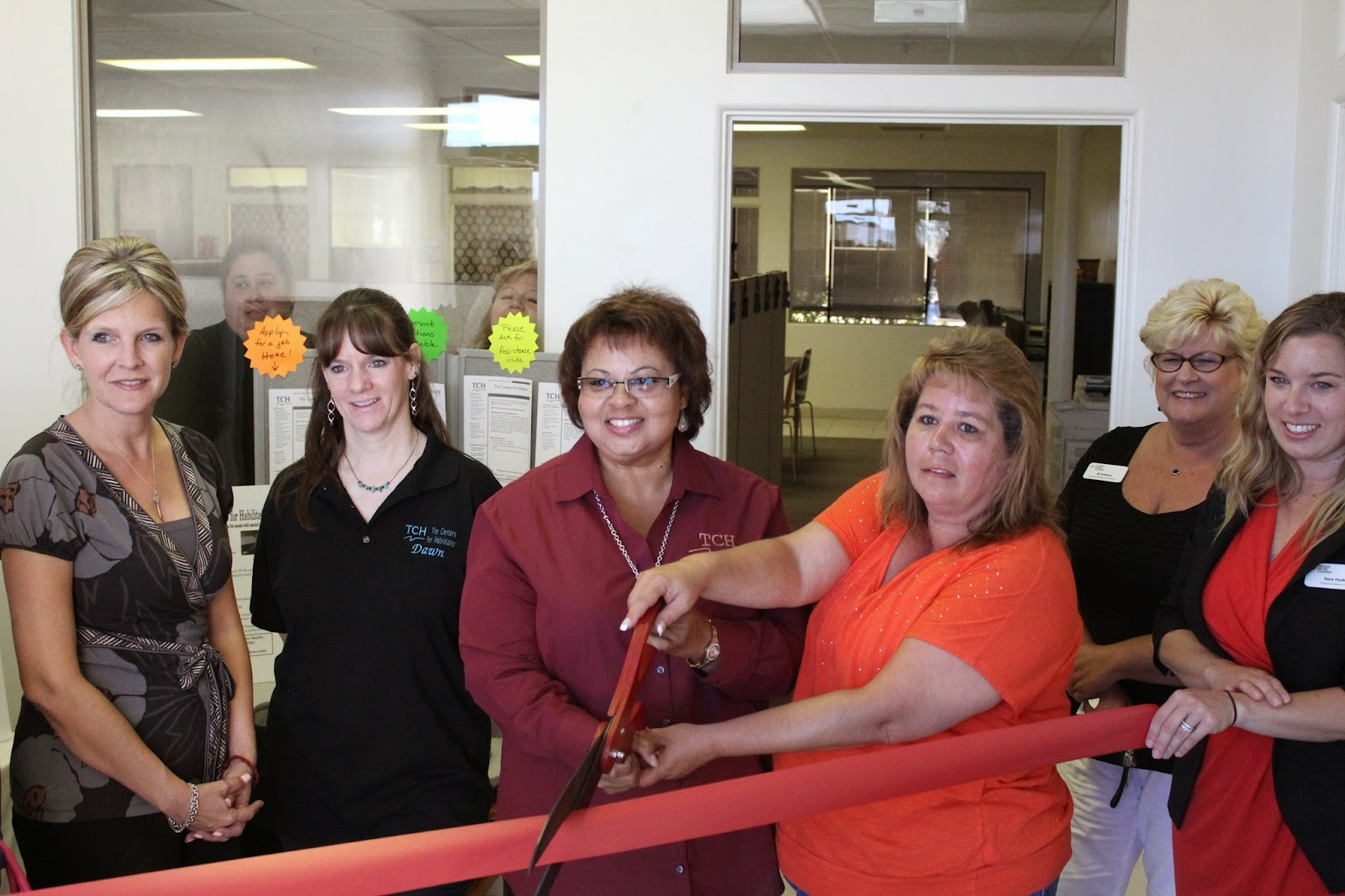 The Centers for Habilitation (TCH) is delighted to announce the Grand Opening, June 27th, of the new location of their Tucson Office and Day Training Center on Bilby Road.  TCH employs individuals with disabilities on nearby Davis-Monthan AFB and provides other opportunities for persons with special needs.