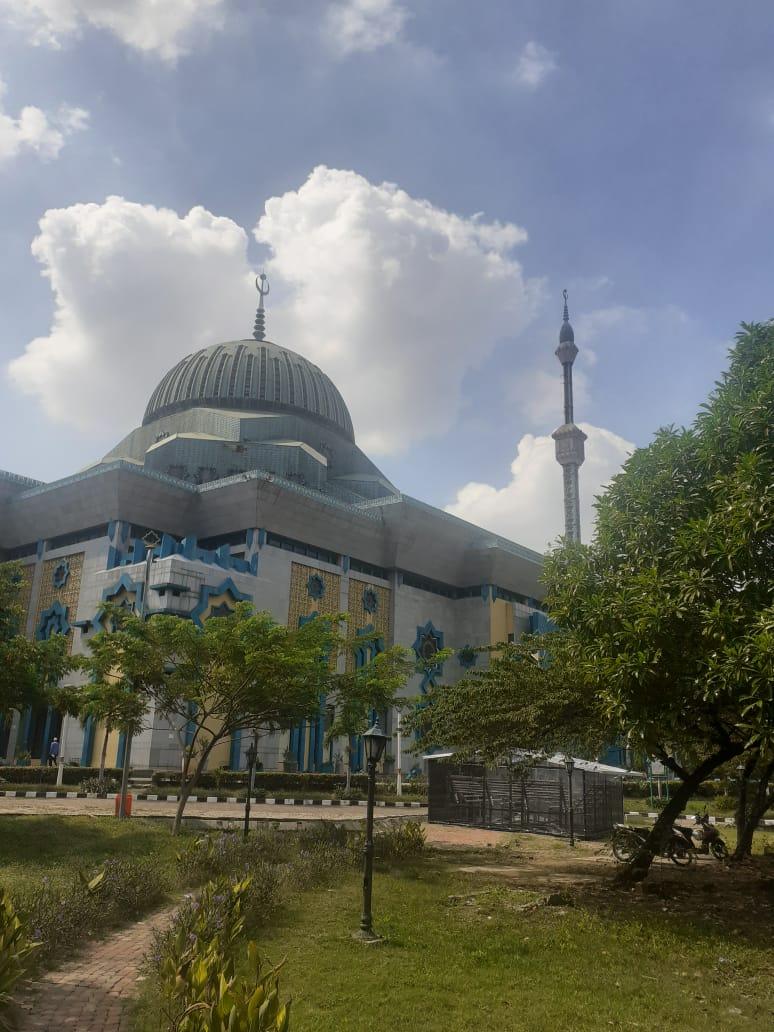 Jakarta Kembali Ke PSBB Transisi, Masjid Raya Jakarta Islamic Centre Kembali Jalankan Shalat Jumat