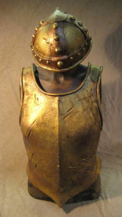 Angua's Breast Plate and Helmet