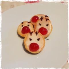biscotti alla panna decorati renna
