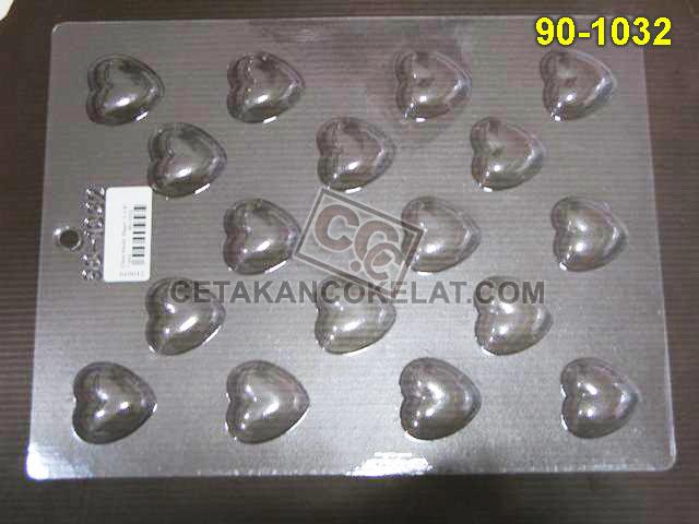 Cetakan Coklat 90-1032 cokelat love praline