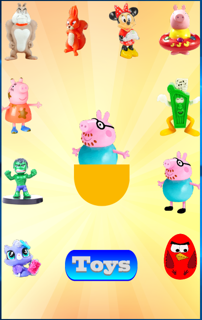 Скриншот Emotions Surprise Eggs Toys Game