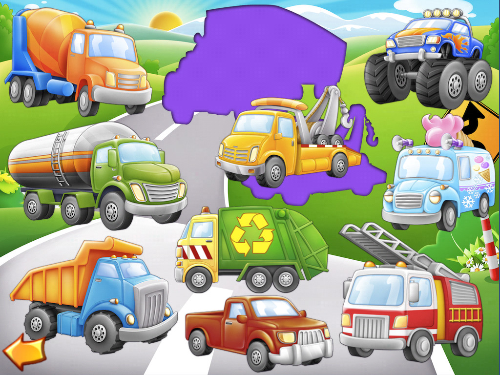 Trucks and Things That Go Community Vehicles