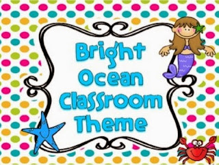 http://www.teacherspayteachers.com/Product/Ocean-Themed-Class-Decor-739081