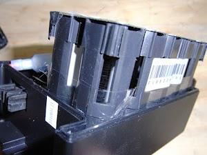 電動アシスト自転車のバッテリパック分解