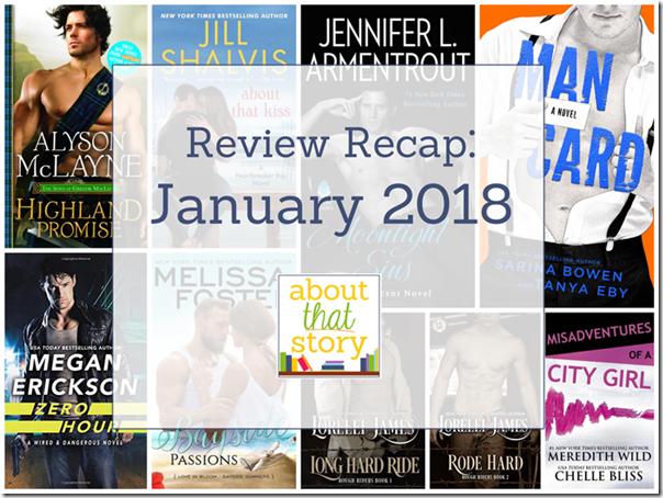 Review Recap: January 2018 | About That Story