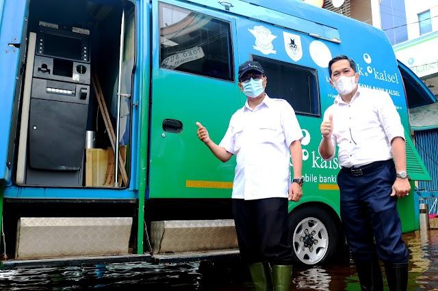 Kondisi Banjir, Bank Kalsel tetap Optimalkan Layanan