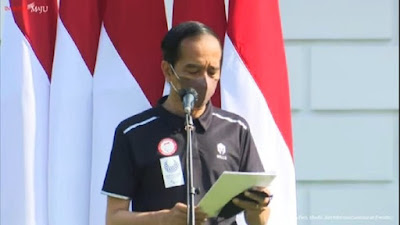 Presiden Jokowi Beri Bonus Rp 5,5 M ke Peraih Medali Emas Paralimpiade Tokyo