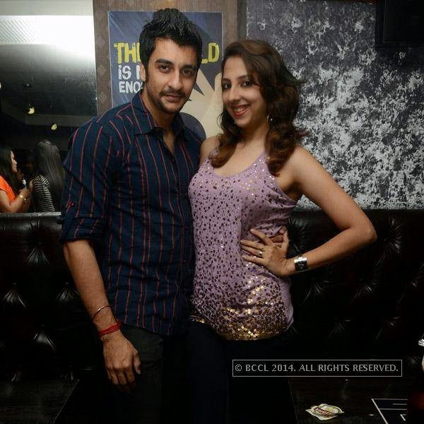 Ram and Namrata during a party organised at Small World pub in Chennai.