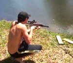 اغرب طريقة لصيد السمك