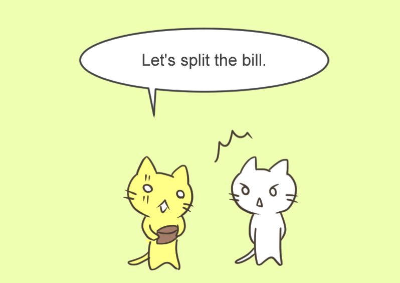 Let s split the bill