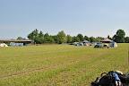 Tak toto je naše tábořiště, zachvíli se zaplní skautíkama z celého světa.
