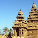 Shore temple rocks