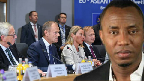 Big Concern, Panic Erupts Aso Rock As EU reacts to Sowore, others' arrest