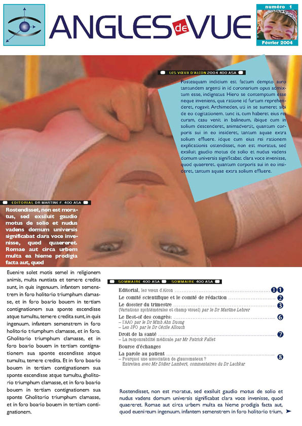 magazine ANGLES DE VUE 3 -SansException