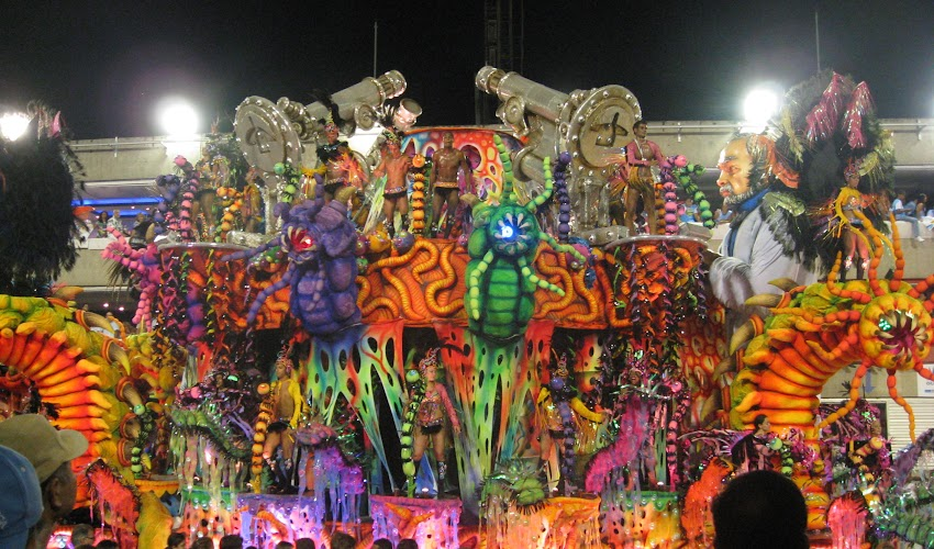 リオのサンバカーニバル⑮ / Rio carnival