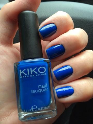esmalte, unha, Kiko, Kiko Makeup, nail polish
