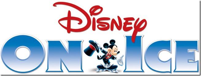 Disney on Ice Logotipo con letras azules