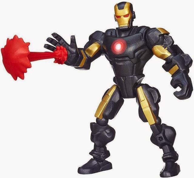 Mô hình Người Sắt Iron Man phiên bản kết hợp chất liệu bằng nhựa