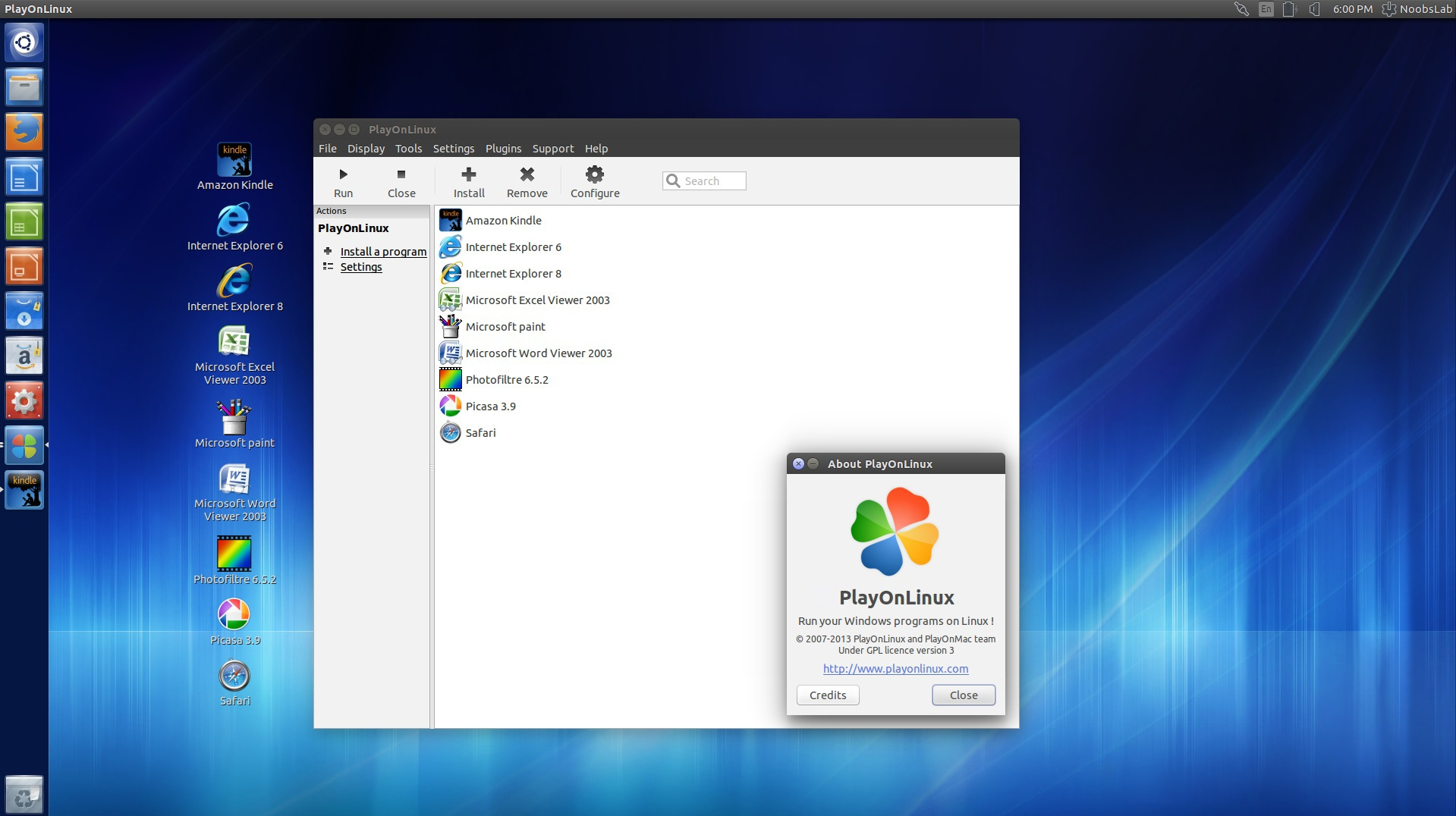 PlayOnLinux Updated to 4 2 10, Install in Ubuntu/Linux Mint
