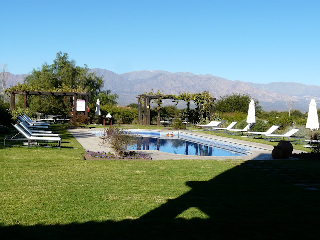 And a beautiful pool area
