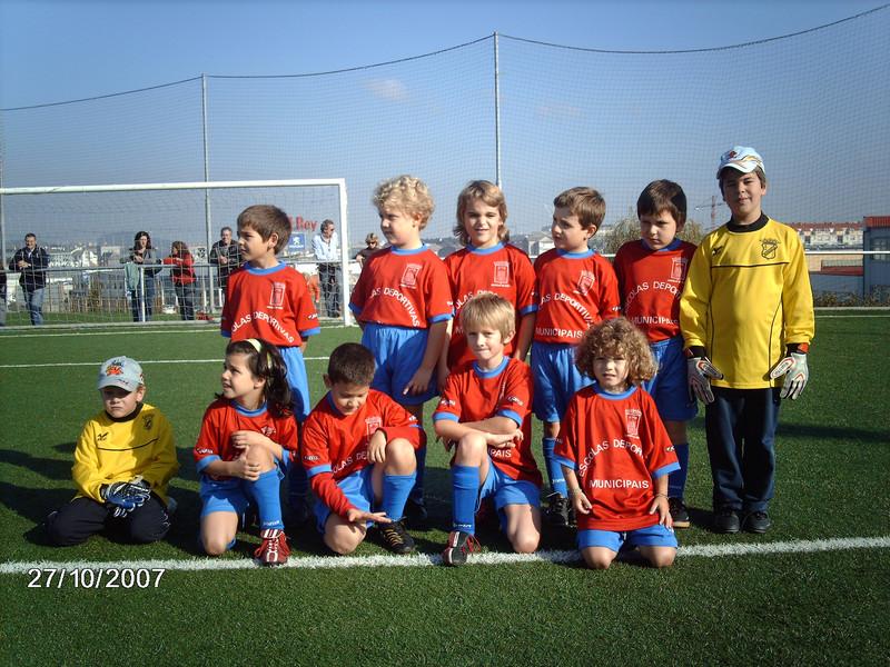 A.D.R. Numancia de Ares. Prebenjamines 2007- 2008 Alex, Adrián, Saúl, Jaime, Manu, Javi Eirick, Iria, Antonio, Hakkon y Martín A Gándara (Ferrol)