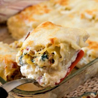 Italian Cold Cut Lasagna Rollups