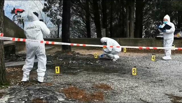 I Carabinieri di Reggio Calabria svelano il giallo della morte di Vincenzo CORDI:bruciato vivo all'interno dell'auto dalla moglie.
