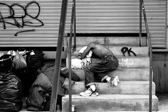 Photo: uneven bed new york city www.leannestaples.com #newyorkcityphotography  #blackandwhitephotography  #streetphotography