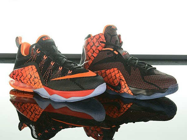 LeBron 12 Fish Scale GS Pack Thats Supposed to Look Like a Dragon