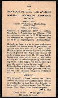 Monde, Martinus Ludovicus Leonardus Bidprentje  6-9-1869.jpg