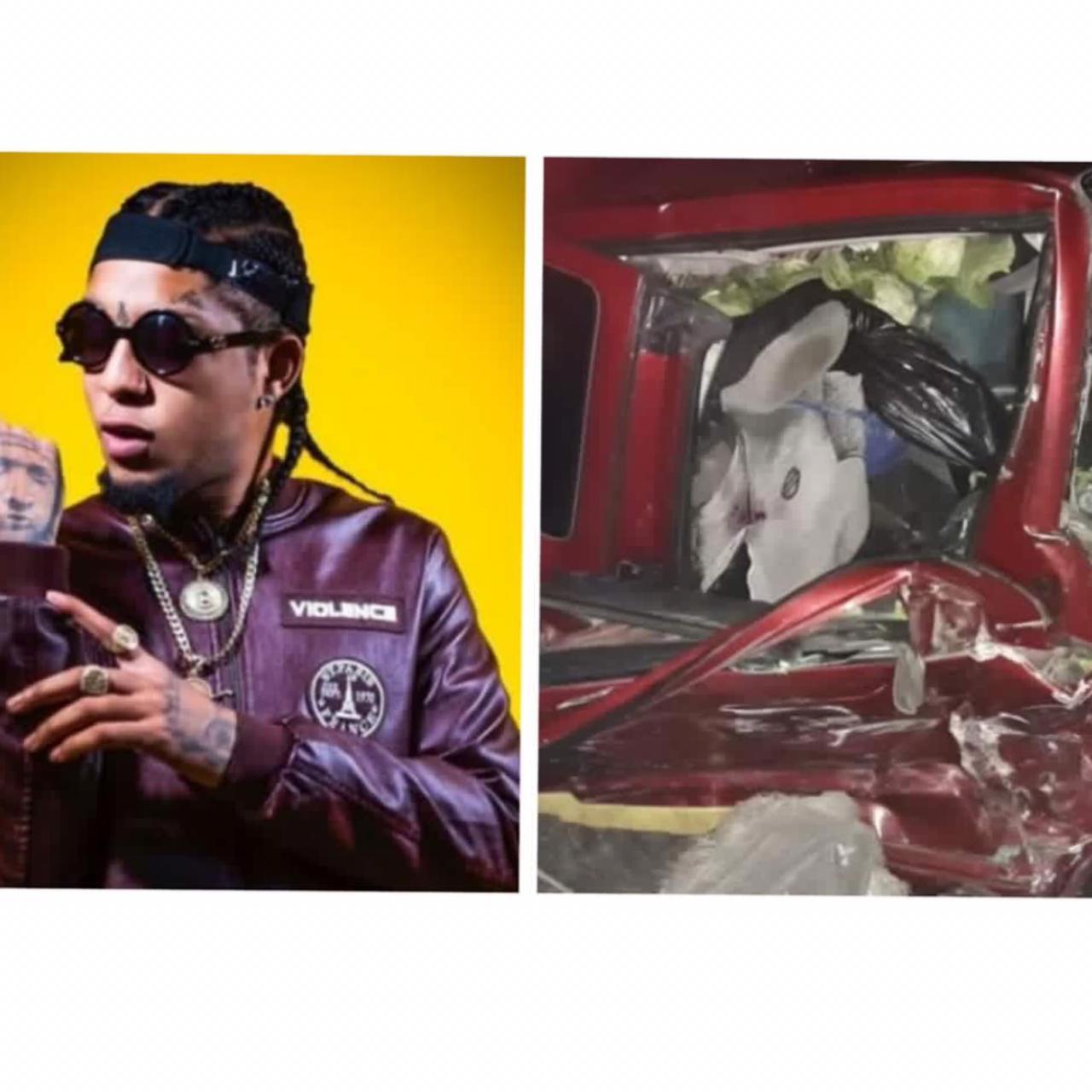 Artista urbano «Rochy RD» sufre aparatoso accidente