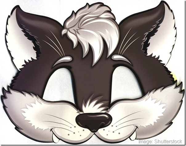 kids-face-masks-template-animals-design-wolf-cut-out