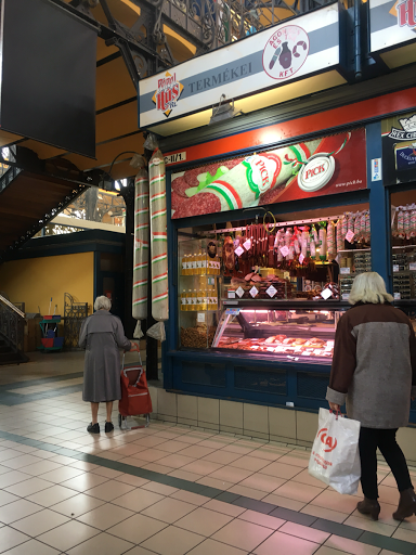 ハンガリー中央市場の肉