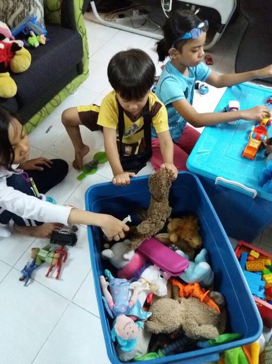 Toys banyak kenangan…