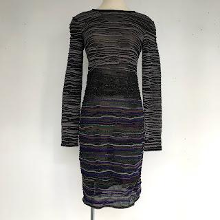 Missoni Sheer Long Sleeve Dress